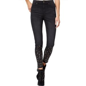 NWT Tinseltown High Waist Embellished jeans 7
